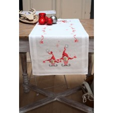 Table runner kit Christmas gnomes
