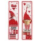 Bookmark kit Christmas gnomes set of 2
