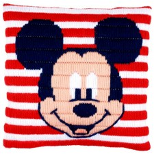 Long stitch cushion kit Disney Mickey Mouse