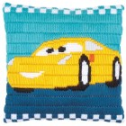 Long stitch cushion kit Disney Cars Cruz