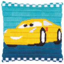 Long stitch cushion kit Disney Cars Cruz