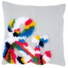 Needlework cushion kit Bright ampersand