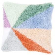 Latch hook cushion kit Palm springs sunburst