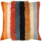 Latch hook & chain stitch cushion kit Boho stripes