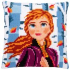 Cross stitch cushion kit Disney Frozen 2 Anna