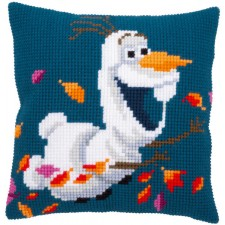 Cross stitch cushion kit Disney Frozen 2 Olaf
