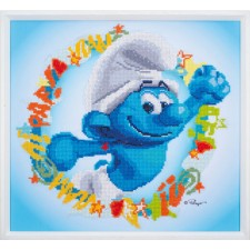 Diamond painting kit The Smurfs Hefty