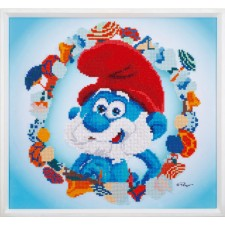 Diamond painting kit The Smurfs Papa