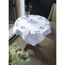 Tablecloth kit Pretty pansies