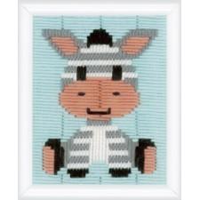 Long stitch kit Zebra