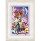 Counted cross stitch kit Butterfly fairy